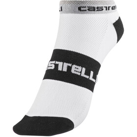 Castelli Lowboy Socks Men white/black